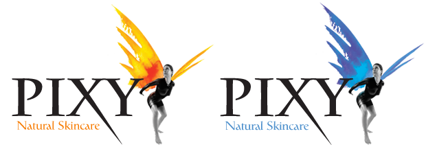 Pixy Natural Skincare Logo Designs