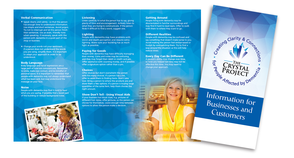 The Crystal Project Leaflet
