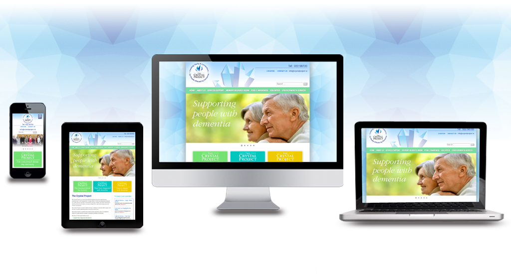 The Crystal Project Website Responsive Design