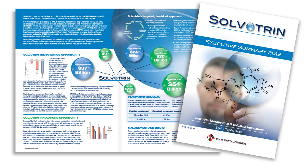 Solvotrin Therapeutics Executive Summary