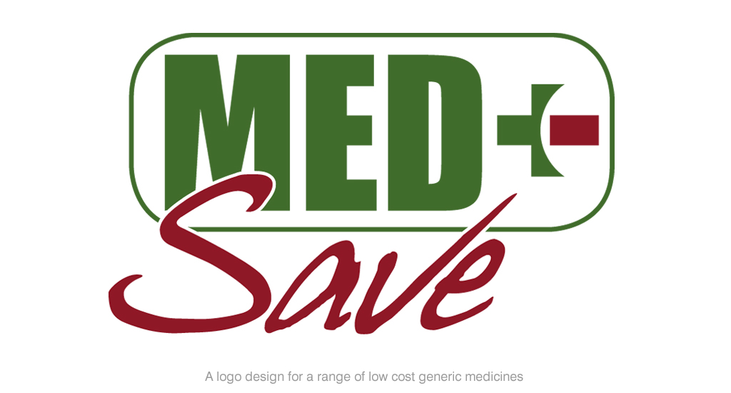 Med Save Logo for Generic Range of Low Cost Medicines