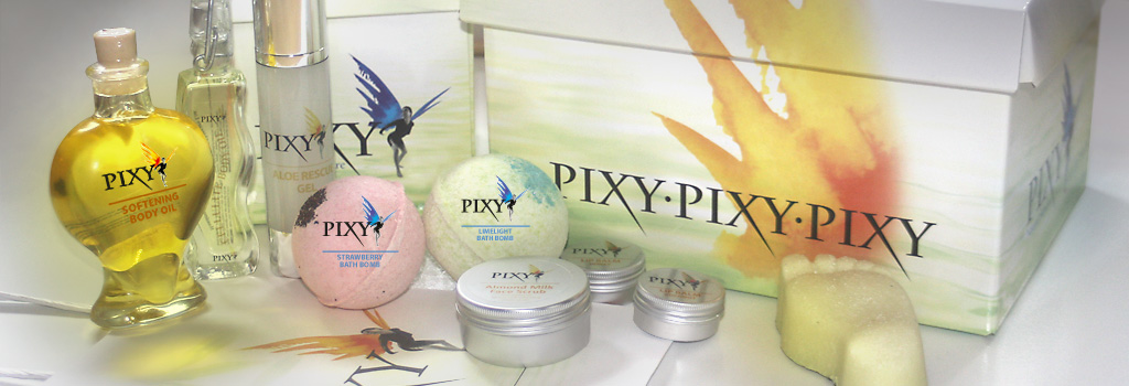 Pixy Natural Skincare Collection Packaging Design