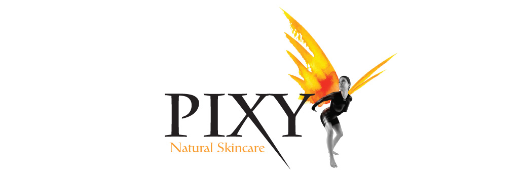 Pixy Natural Skincare in Cork Logo Design