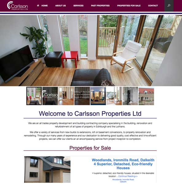 Carlsson Properties based in Edinburgh