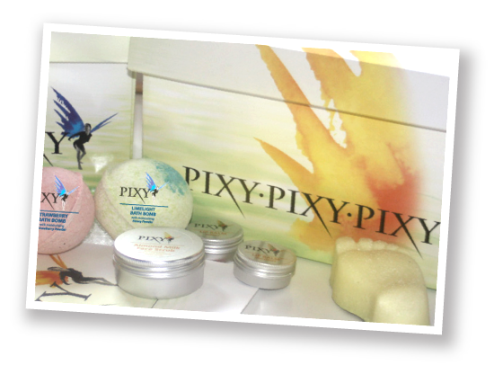 Pixy Natural Skincare packaging design