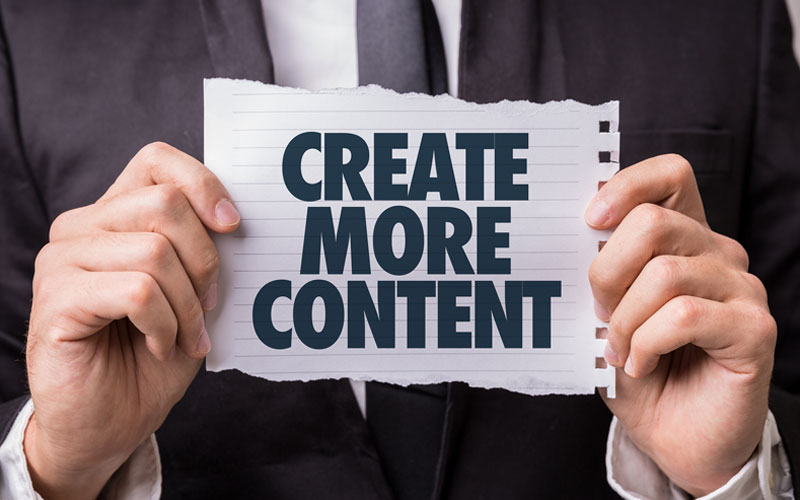 Write More Website Content